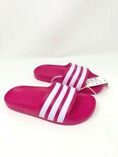 Adidas Adilette Aqua K Beach Slides Pink/White Magenta Size 2 Kids