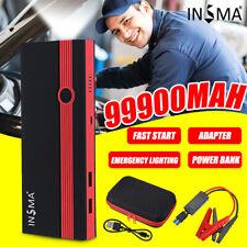 99900mAh Portable 12V Car Jump Starter Power Bank Booster USB Charger Battery 🔥