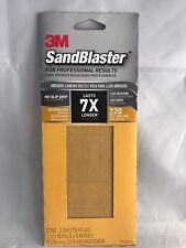 3M  Sandpaper 220 Grit - 5 sheets per Pack