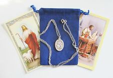 St. Joseph Saint Medal with 24 Inch Necklace