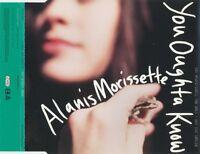 Alanis Morissette Maxi CD You Oughta Know - Promo - England (M/EX)