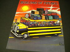 SUICIDAL TENDENCIES and INFECTIOUS GROOVES 2-sided 1993 PROMO AD Busload Freaks