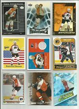 JOHN LECLAIR LOT 9 TOPPS HERITAGE GAME USED JERSEY UPPER DECK UD OPC