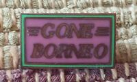 Gone Borneo lapel pin pre-owned