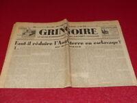 [Prensa WW2 Buses ] Gringoire #362 11 Oct 1935 Beraud Inglaterra Knecht