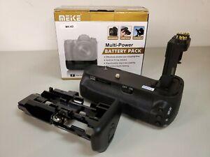 Meike Mulit-Power Battery Pack MK-6D for Canon 6D Black NEW