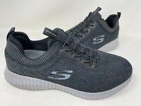 NEW! Skechers Men's Elite Flex Hartnell Slip On Shoes Blk/Gry WIDE #5264W 202R z