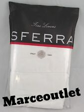 Sferra Fine Linens Fiona 3200 Egyptian Cotton Sateen STANDARD Pillowcases White