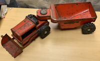 Wyandotte Heavy Duty Highway Engineers Tractor w/ Dump Trailer Vintage 1950's