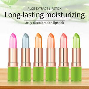 Waterproof-Moisturizer Color-Changing-Aloe-Vera-Lip Balm Lipstick Long-Lasting