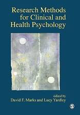 Research Methods for Clinical and Health Psychology by