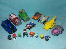 Paw Patrol Action Figures Pups Rescue Vehicles lot kids children's toys gifts