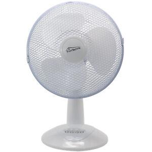 Tischventilator Ventilator Lüfter Windmaschine Oszillierend Oszillation 40W