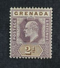 Ckstamps: Gb Stamps Collection Grenada Scott#60 Unused Ng