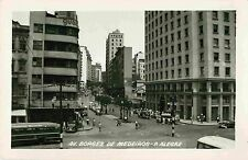 Avenue Borges de Medeiros, Porto Alegre Brazil RPPC