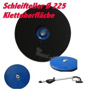 Schleifteller Kletteller für Menzer LHS 225 Vario/Pro Langhalsschleif