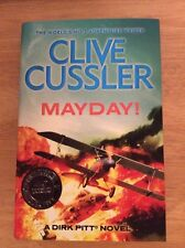 Signed - Mayday! Clive Cussler UK 40th Anniversary Edition 2013 + Pic