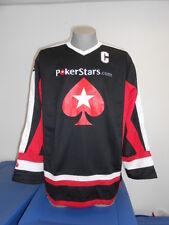 Mats Sundin World Series of Poker Mens Captain's Hockey Jersey New L