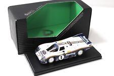 1:43 KYOSHO DNANO PORSCHE 962 C LH #1 WINNER LEMANS New in Premium-MODELCARS
