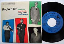 """JAZZ SET Billy Taylor CHICO HAMILTON 7"""" promo EP Bop Jazz WOODY HERMAN w2873"""