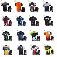 Men's Sportswear Bicycle Clothing Cycling Jersey Bike Bicycle Short Sleeve Set
