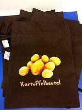 10x Kartoffelbeutel Vlies Kartoffeltasche je 34x44cm Tasche