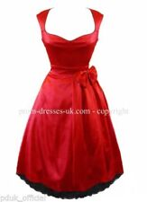 Christmas Satin Party Dresses for Women