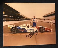 Arie Luyendyk Signed Indy 500 Winner Indianapolis 1997 8 X 10 Photo Day After