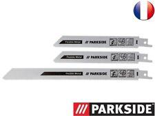 PARKSIDE® Set de lames pour scie sabre  PFSZ 3, 3 PIECES (LAME METAL EPAIS)