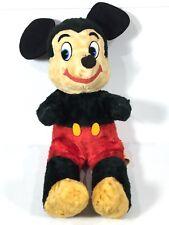 Mickey Mouse Walt Disney Character  California Stuffed Toys Vintage Plush 1960s