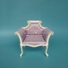 Sale 1:6 Scale Dollhouse Miniature Furniture Barbie Dolls BJD Sofa/Chair Violet