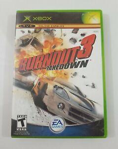 Burnout 3 Takedown Xbox 2004 EA Games