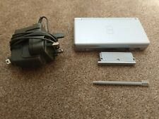Nintendo DS Lite Metallic Silver Console with Mains Charger and New Stylus