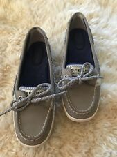 Sperry Grey Gray Angelfish Boat Shoes