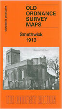 OLD ORDNANCE SURVEY MAP SMETHWICK 1913