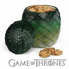 """Game of Thrones Dragon Egg 9"""" Cookie Jar Daenerys Gift Replica Canister Ceramic"""