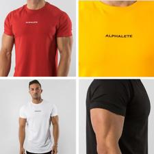 Alphalete Alpha Men's T-Shirt Gym Bodybuilding Fitness Training Top Muscle Tee
