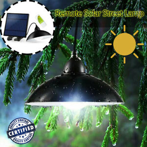 Solar Power Chandelier Solar Light With Remote Outdoor Energy Saving with Remote