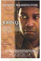 JOHN Q & UNSTOPPABLE MOVIE POSTER BOTH ORIGINAL 27x40 DENZEL WASHINGTON
