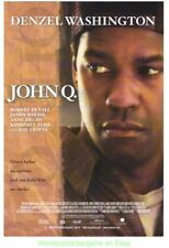 JOHN Q & UNSTOPPABLE MOVIE POSTER BOTH ORIGINAL 27x40 DENZEL WASHINGTON