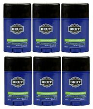 Brut Revolution Scented Deodorant Travel Size 2 oz Ea BRAND NEW SEALED
