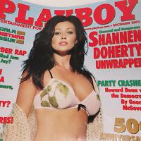 Playboy Shannen Doherty December 2003 Magazine - Who Killed Jam Master Jay