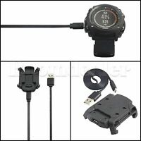 USB Charging Dock Data Cable Charger Band For Garmin Fenix 3 HR GPS Sport Watch