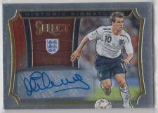 Panini Select historic signatures 2015 Michael Owen auto card 145/199 England
