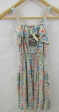 Matilda Jane Girls Size 8 Happy And Free Warm Meadow Dress Floral NWT New