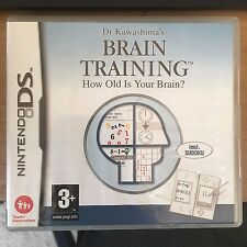 Brain TRAINING Dr. Kawashimas Nintendo DS