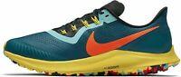 New Nike Air Zoom Pegasus 36 Trail Teal Mens Running Shoes Green [AR5677-301]