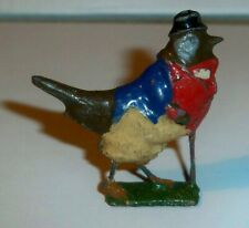 Britains Cococubs Pre-war lead figure of animals this one is Gussie Robin