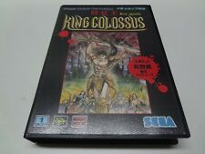 King Colossus Sega Megadrive Japan NEW