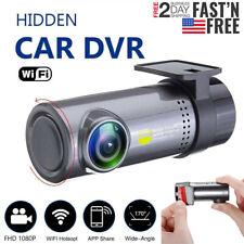 1080p HD Wireless Wifi Hidden Car DVR Camera Dash Cam G-Sensor Video Recorder US